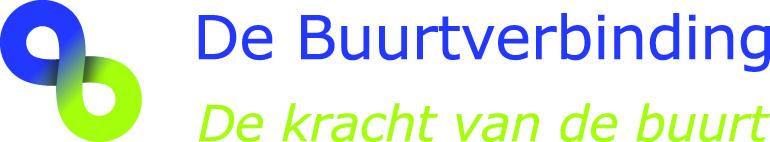 Logo De Buurtverbinding met slogan